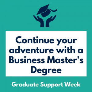 Continue Your Adventure with a Business Master's Degree