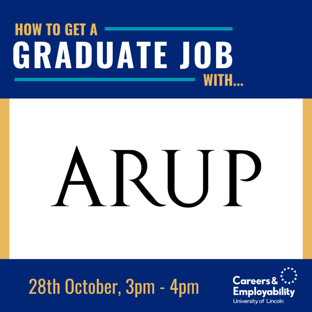 How to get a graduate job with Arup