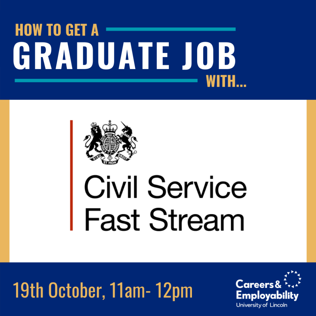 How to get a graduate job with Civil Service Fast Stream