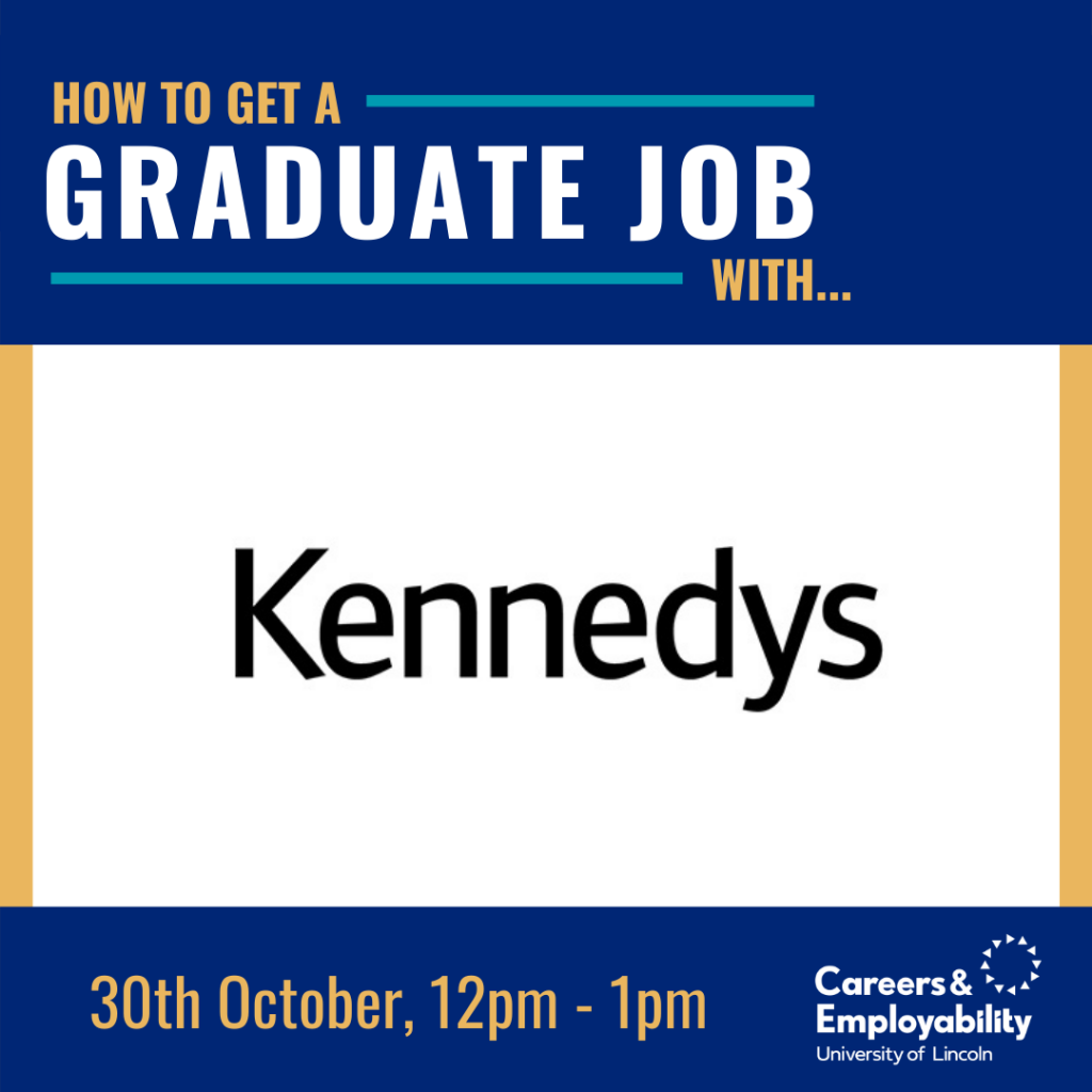 How to get a graduate job with Kennedys Law