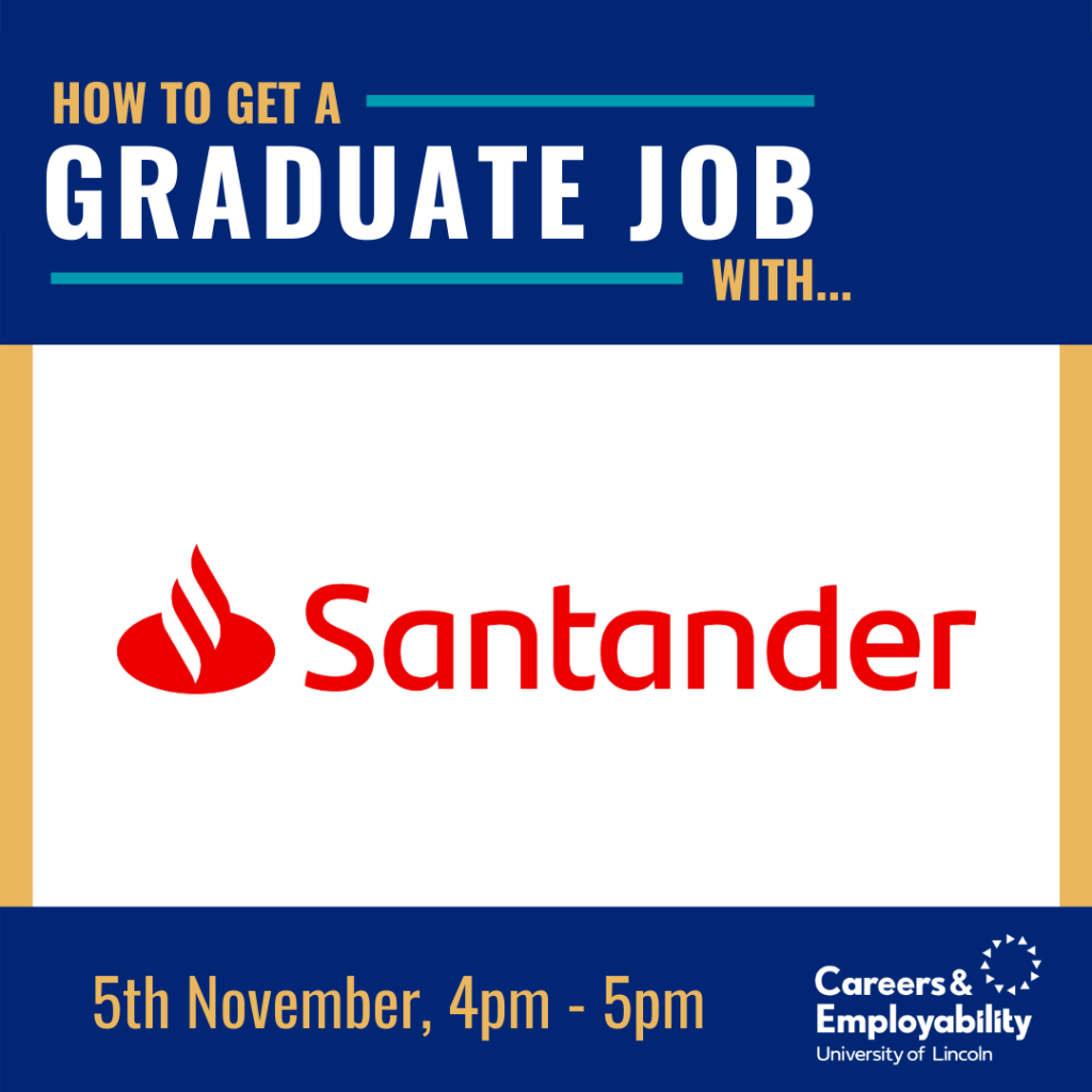 How to get a graduate job with Santander
