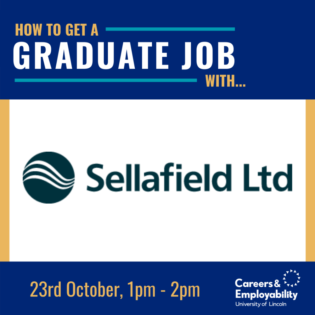 How to get a graduate job with Sellafield