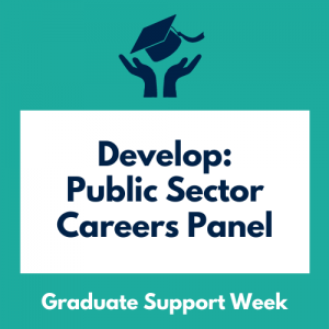 Develop: Public Sector Careers Panel
