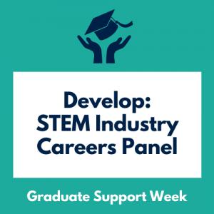 Develop: STEM Industry Careers Panel