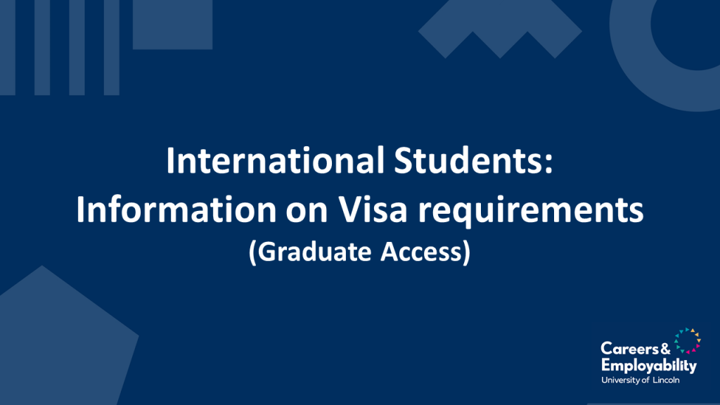 Title stating Information on visa requirements