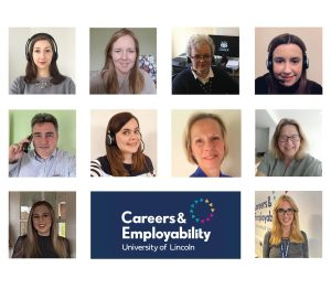 Team photograph of Careers Centre Staff